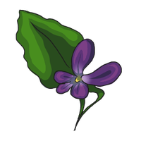 Violets by ReapersSpeciesHub