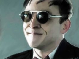 Oswald Cobblepot's sunglasses by MayaCobblepot