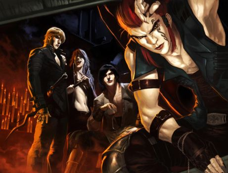 welcome to the vampire family by zano