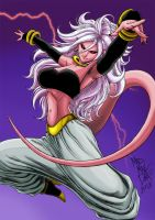 Majin Android 21 by madmaxsol