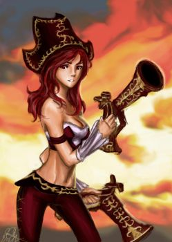 Naivete Miss Fortune by Emiriic