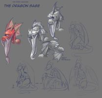 The First Unicorn: Dragon Sage by CyberToaster