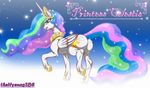 Princess Celestia  By theHyenasSBE by QuestionUnicorn