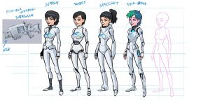 Further Joan concepts by PickleStork