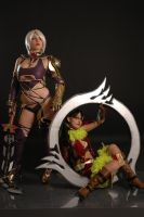 Ivy and Tira by Ivycosplay