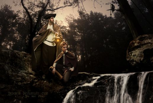 The Brothers Grimm by Lindowyn