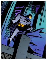 Dark Knight by Bruce Timm by DrDoom1081