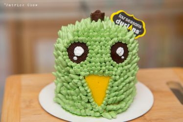 Durian cake by patchow
