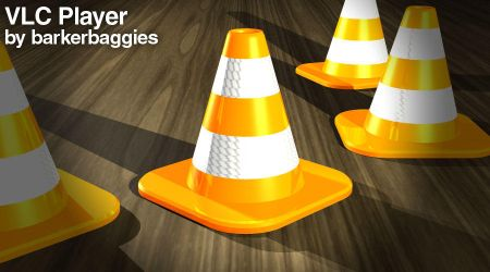 VLC Cone Icon by barkerbaggies