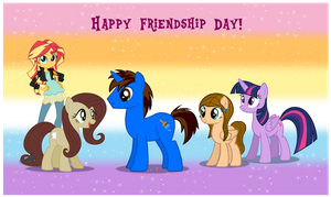 Friendship Day 2016 by AndoAnimalia