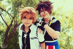Our Memories - Sora and Roxas by Mortal-Tisha