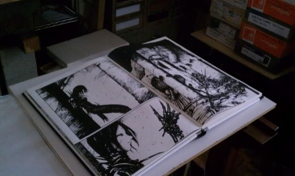 Tsutomu Nihei :: NOiSE :: blurry spread... by control-authority