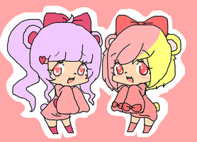 like sisters by Chibii-chii