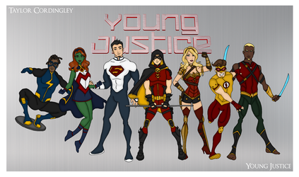 My DCU - Young Justice Redesigned by Femmes-Fatales