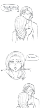 Just kiss her already! by Zerolr-RM