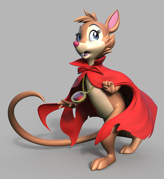 Mrs. Brisby by Lemurfeature