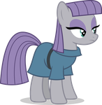 Mlp Fim Maud Pie (...) vector by luckreza8