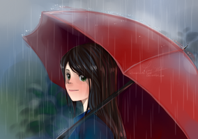 Umbrella by Sabaku-no-hana