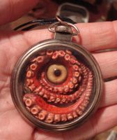 Pocket Kraken glass eye by missmonster