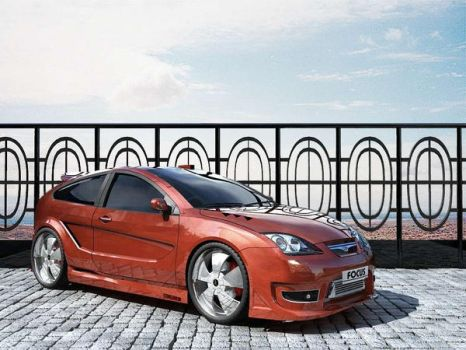 Ford Focus GTO by dejunz