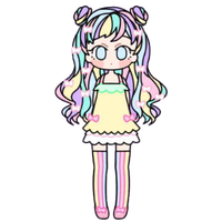 Pastel Girl by Rosemoji