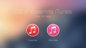 Yosemite iTunes by JasonZigrino
