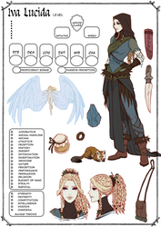 Iva Lucida Character Sheet by moni158