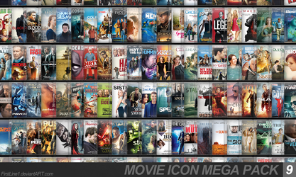 Movie Icon Mega Pack 9 by FirstLine1