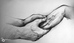 hands hug 2 by Shahsepram