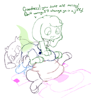 Sue's Diaper change by BoredomWithFriends