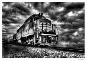 Train's a comin by MidagePhotographer