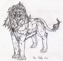 Chiomar,the Holy Lion by riard