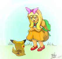 Request 001: Ashley Ketchum by Dino5tee