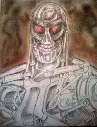 Terminator drawing by Anthon1984