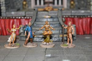 Heroclix conversion repaint rebase 17 by MrVergee