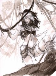 Savage land Rogue Hunter  by ebas
