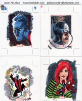 Marvel 70th Sketch Cards 2 by Manji675