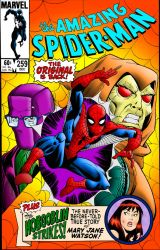 Amazing Spider-Man 259 Original Cover | Colourised by Cotterill23