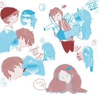 fiolee sketches by Ilovecupcakesomuch
