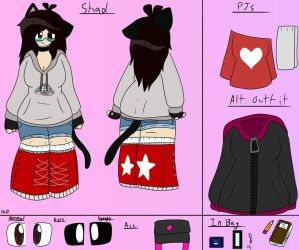 Shad Ref Sheet/Profile (UPDATED) by ShadAmyfangirl129
