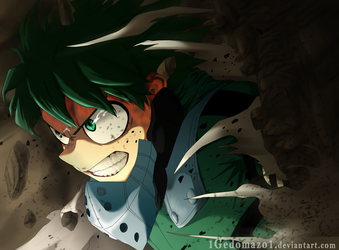 My Hero Academia 152 - Just In Time! by 1GedoMazo1