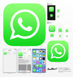 WhatsApp iOS7 icon by xAlien95