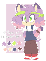 Ethereal the hedgehog ref sheet by coffee--latte