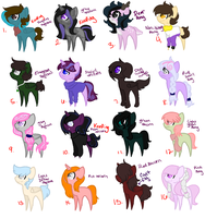 MLP Adopts [Open, 2 points] by Starstruckmoonknight