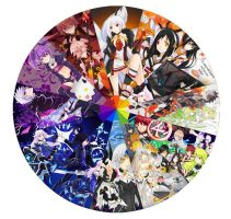 Elsword Colour Wheel by Astrovique