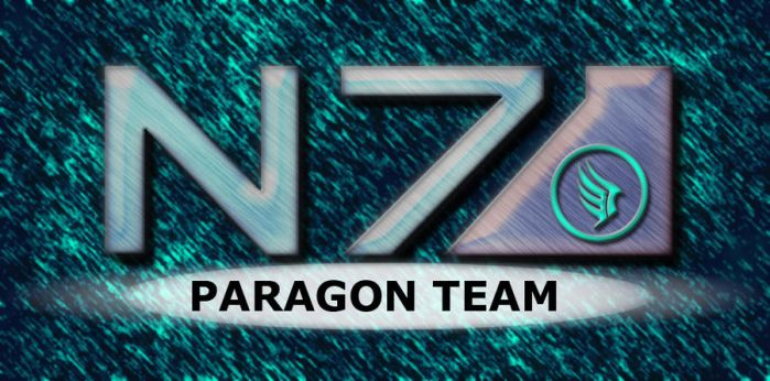 Paragon Banner Mass Effect by Odintheknight