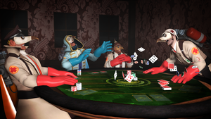 [SFM] Poker night by Rya-Sfm