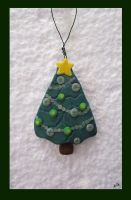 Christmas Tree Ornament by ridiculyss