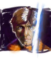 Drawing a Day - Day 1 - Luke by Mop-of-the-Bucket