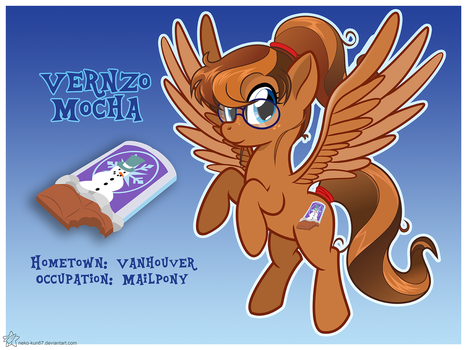 MLP OC [MAKE OVER] Vernzo Mocha by Neko-kun67
